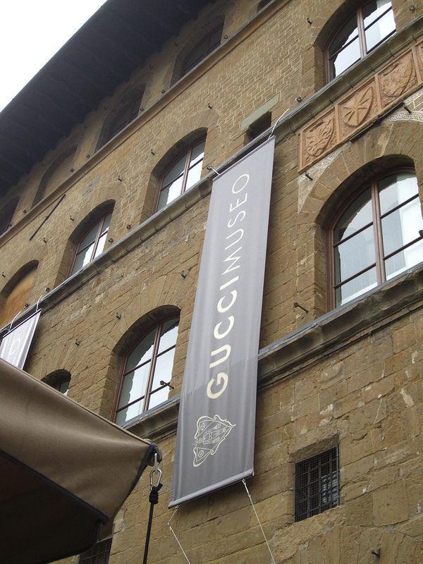 The museum in the Palazzo della Mercanzia
