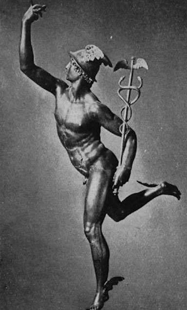 Hermes, the greek messenger