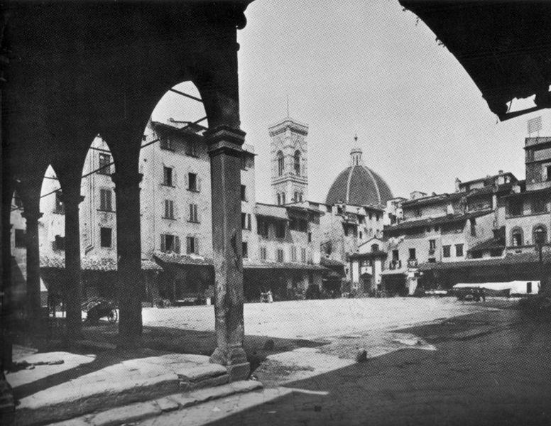 Piazza della Repubblica in the 1893