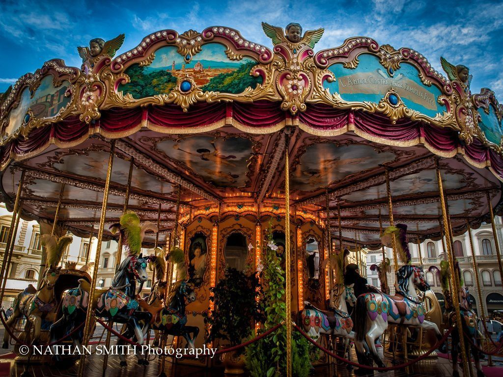 Florence Photo Tour - Carousel by Nathan Smith