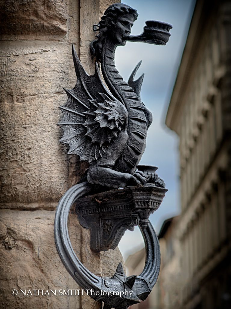 Florence Photo Tour - Dragon by Nathan Smith