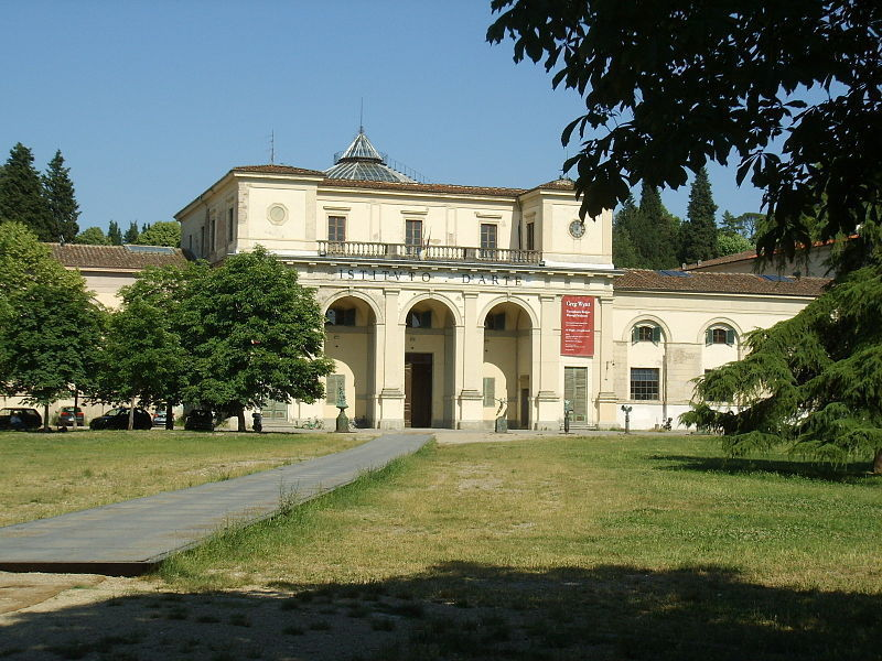 The Istituto d'Arte in Florence