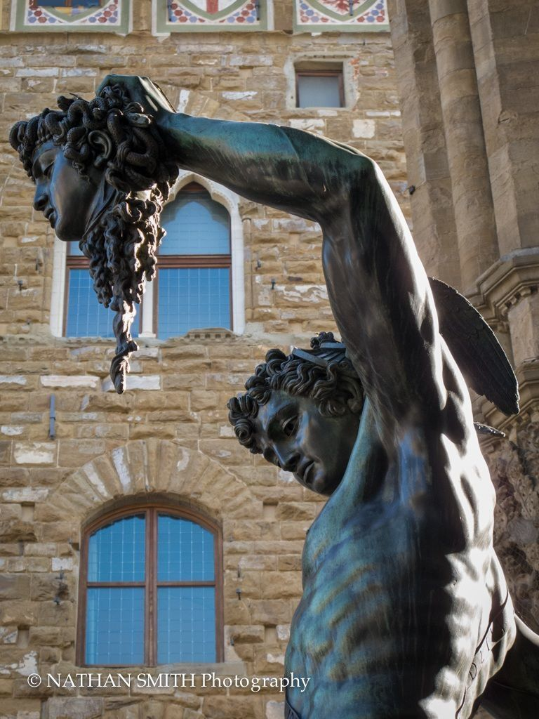 Florence Photo Tour - Medusa Head by Nathan Smith