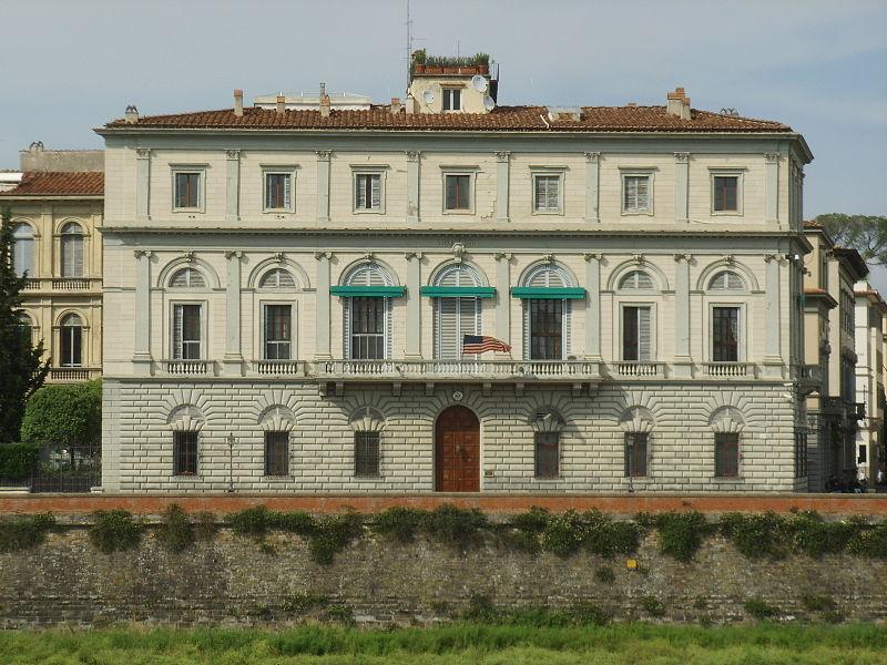 Palazzo Calcagnini (the American Consulate in Florence)