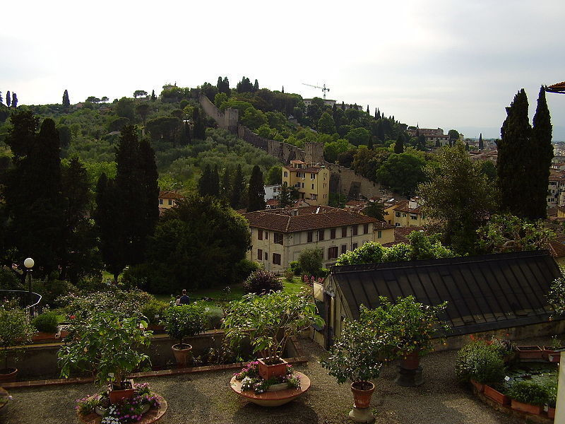 The ancient walls near San Niccolò