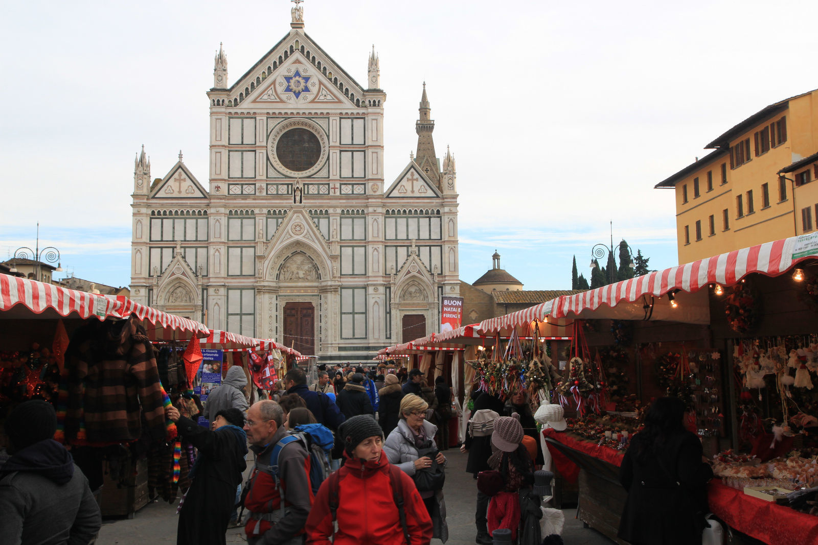Christmas Market in Santa Croce Florence