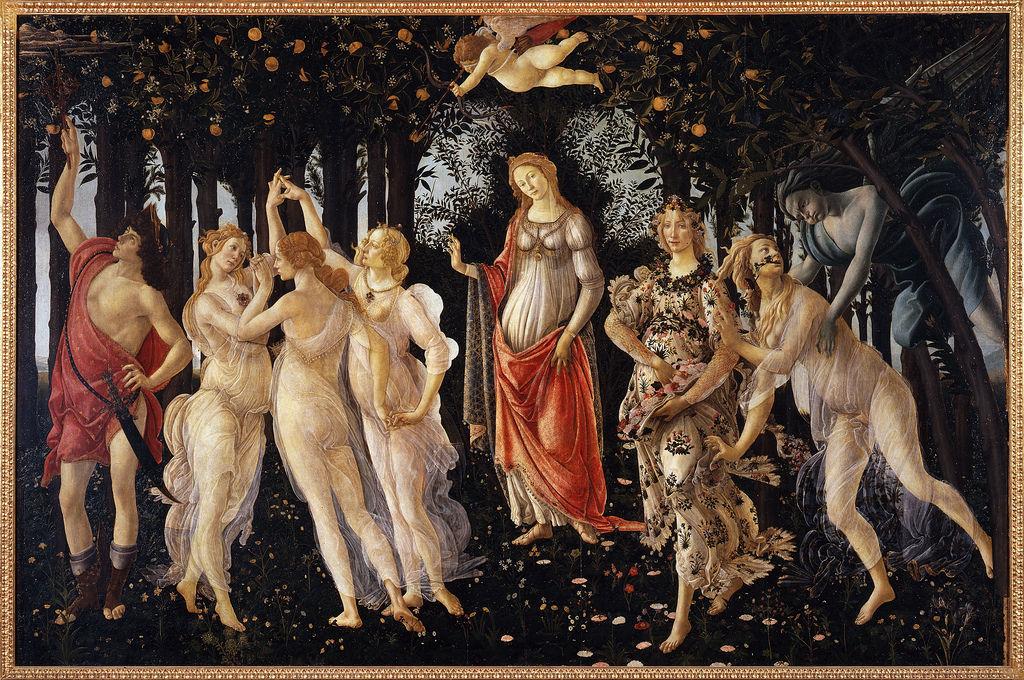 Sandro Botticelli La Primavera by greta-g