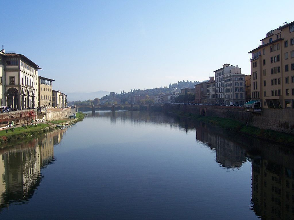 The Arno River, Florence
