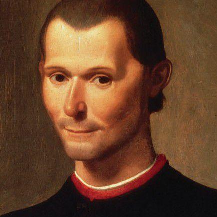 Niccolò Machiavelli by Santi di Tito