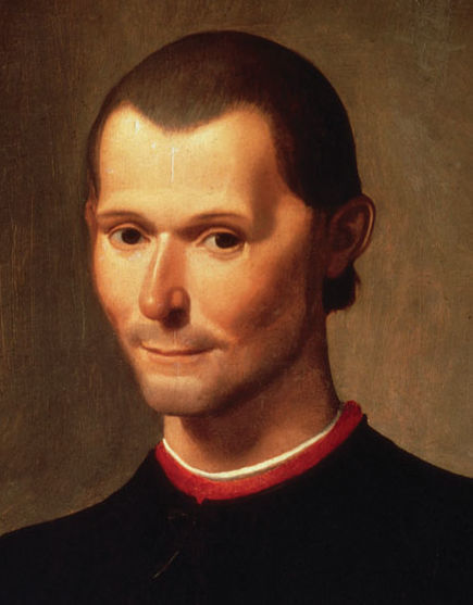 Niccolò Machiavelli by Santi di Tito