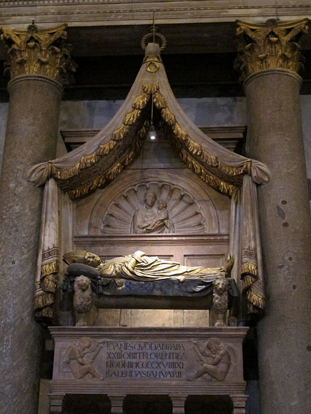 Tomb of the Antipope Giovanni XXIII, Florence, Italy