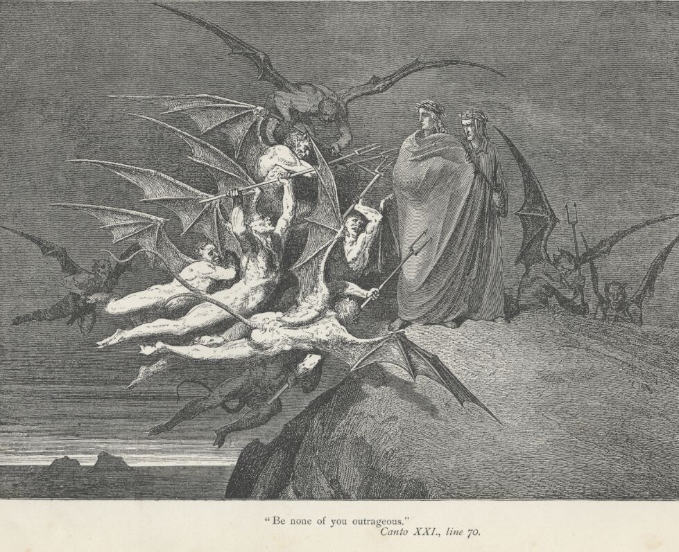 Gustave Dorè - Inferno 21