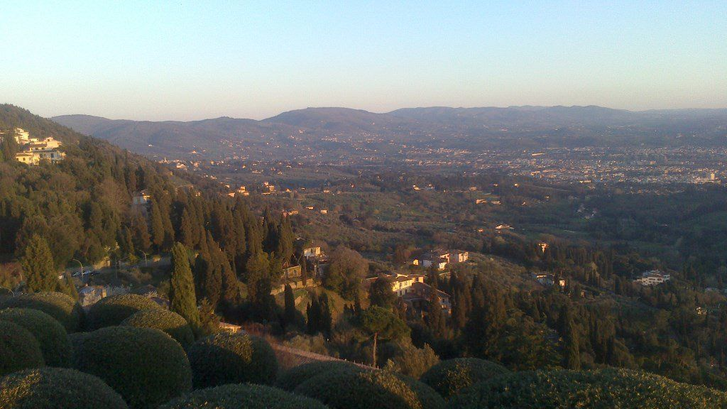 Sunset in Fiesole