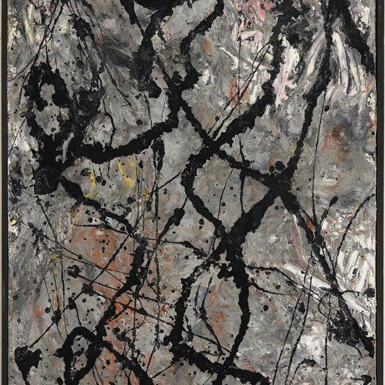 The Exhibit Jackson Pollock. The Figure of Fury
