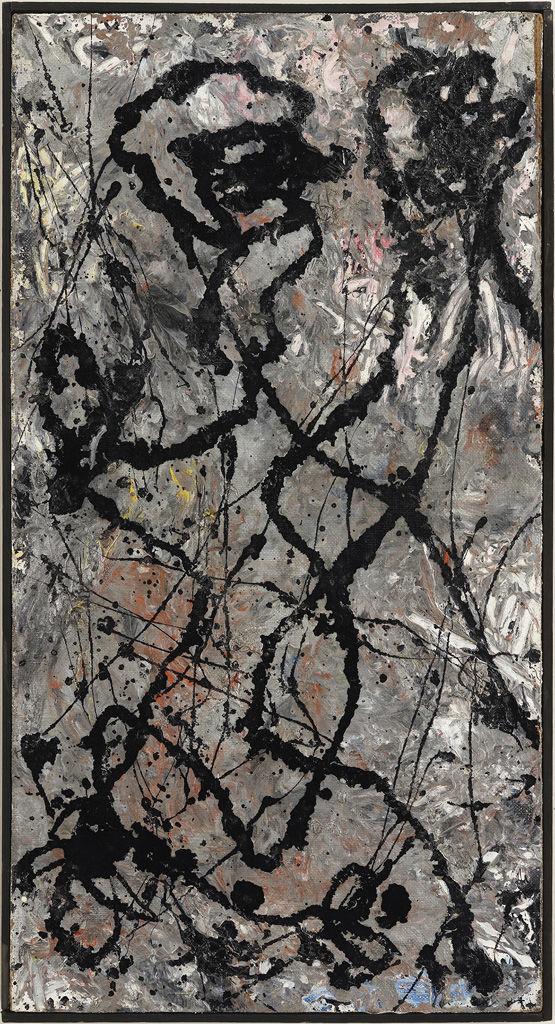 The Exhibit Jackson Pollock. The Figure of Fury