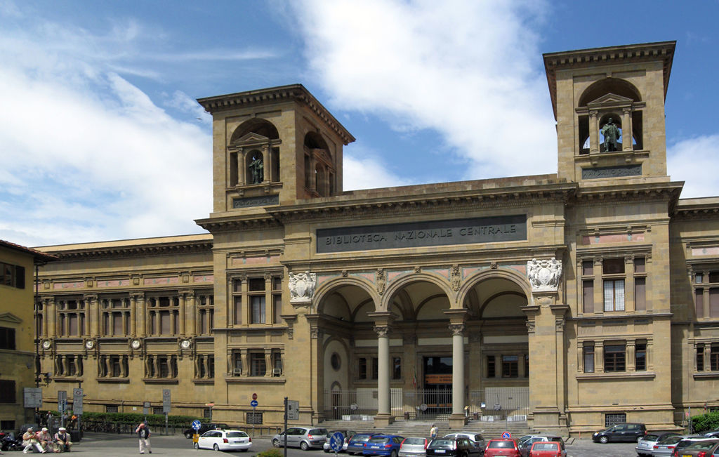 The National Central Library of Florence, Italy