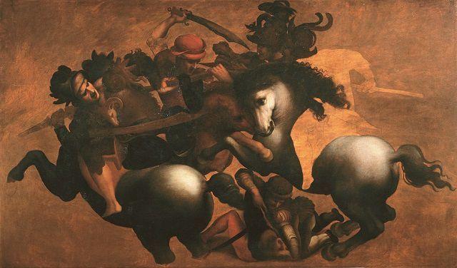 Battaglia di Anghiari, anonimo del XVI d.C.