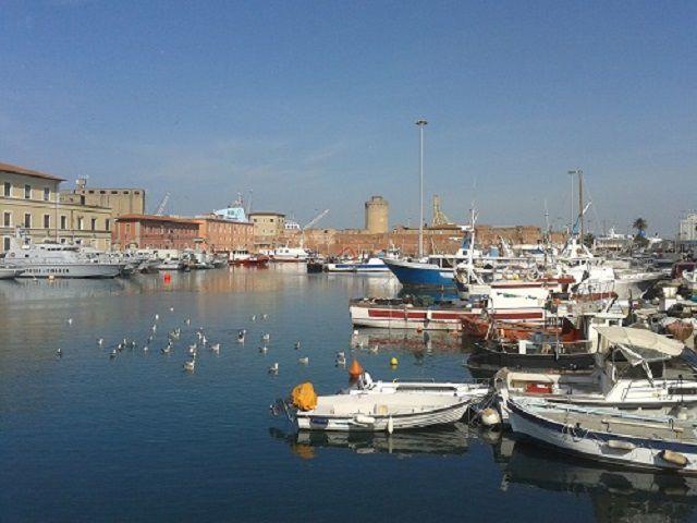Livorno port