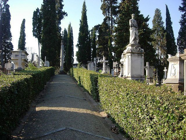 English Cemetery Florence