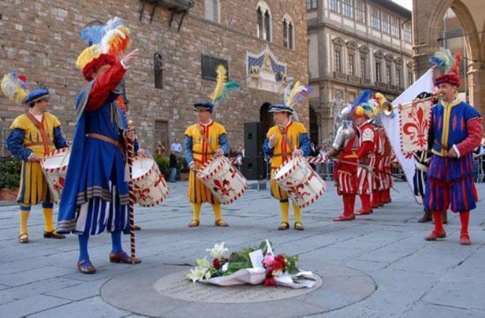 Fiorita commemoration Savonarola Florence