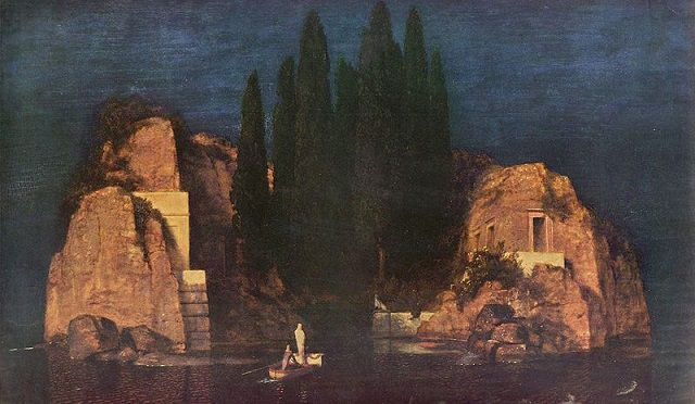 Isle of the Dead Version New York-Arnold-Böcklin