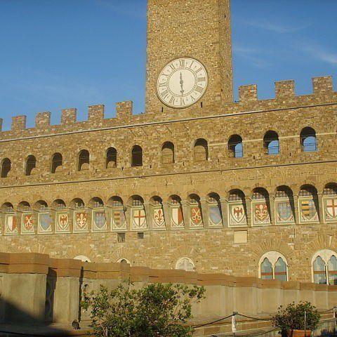 Palazzo Vecchio and its clock