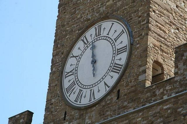 Clock of Arnolfo tower