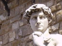 Head of David in Piazza Signoria
