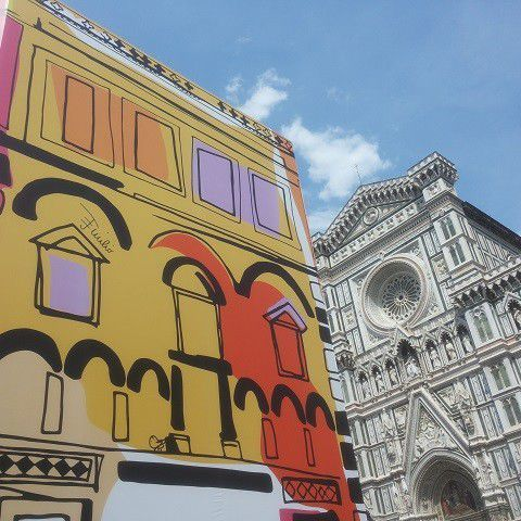 Baptistery of Florence dress by Emilio Pucci