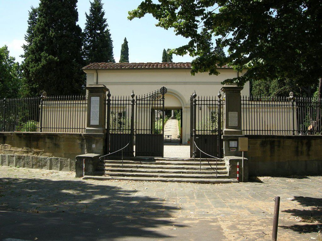 British cemetery main entrance