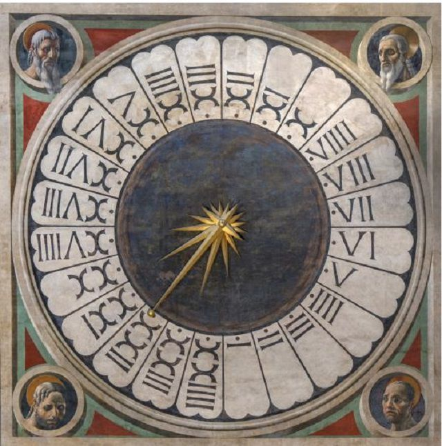 Paolo Uccelo's Clock in the Florence of Cathedral