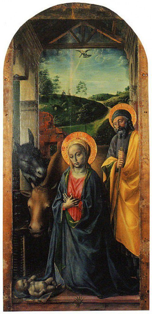 Nativity of Gesù by Vincenzo Foppa
