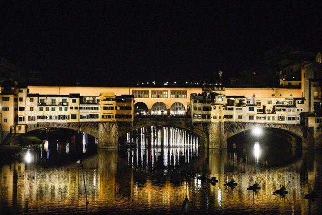 Ponte Vecchio New lighting by Stefano Ricci