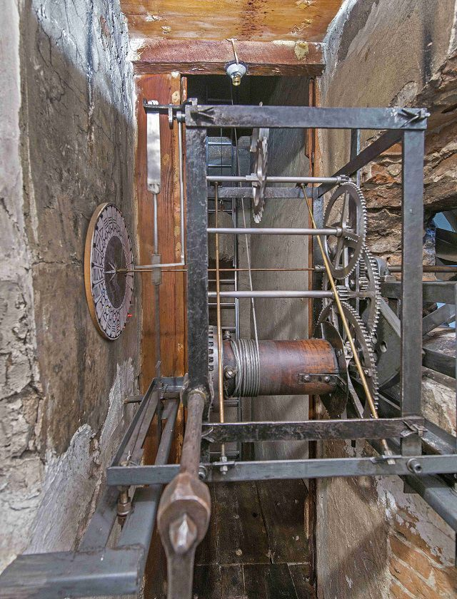 Santa Maria del Fiore, clock mechanism, Antonio Quattrone photo