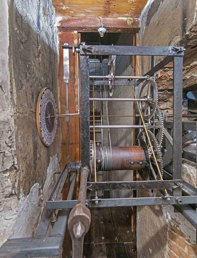 Santa Maria del Fiore, clock mechanism, Antonio Quattrone photo