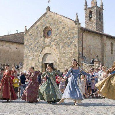 Monteriggioni Siena Medieval Feast
