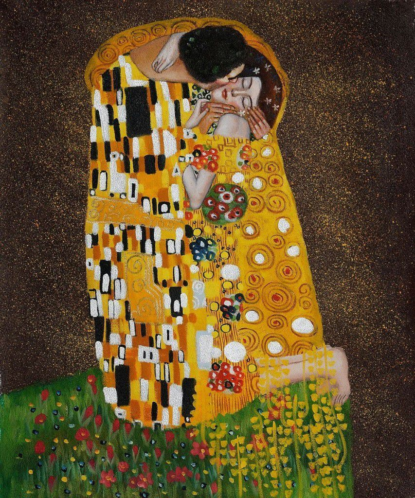 The Kiss by Gustave Klimt