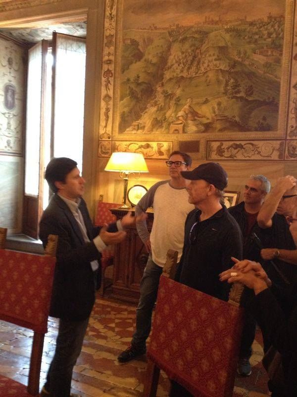 Ron Howard's Florentine visit