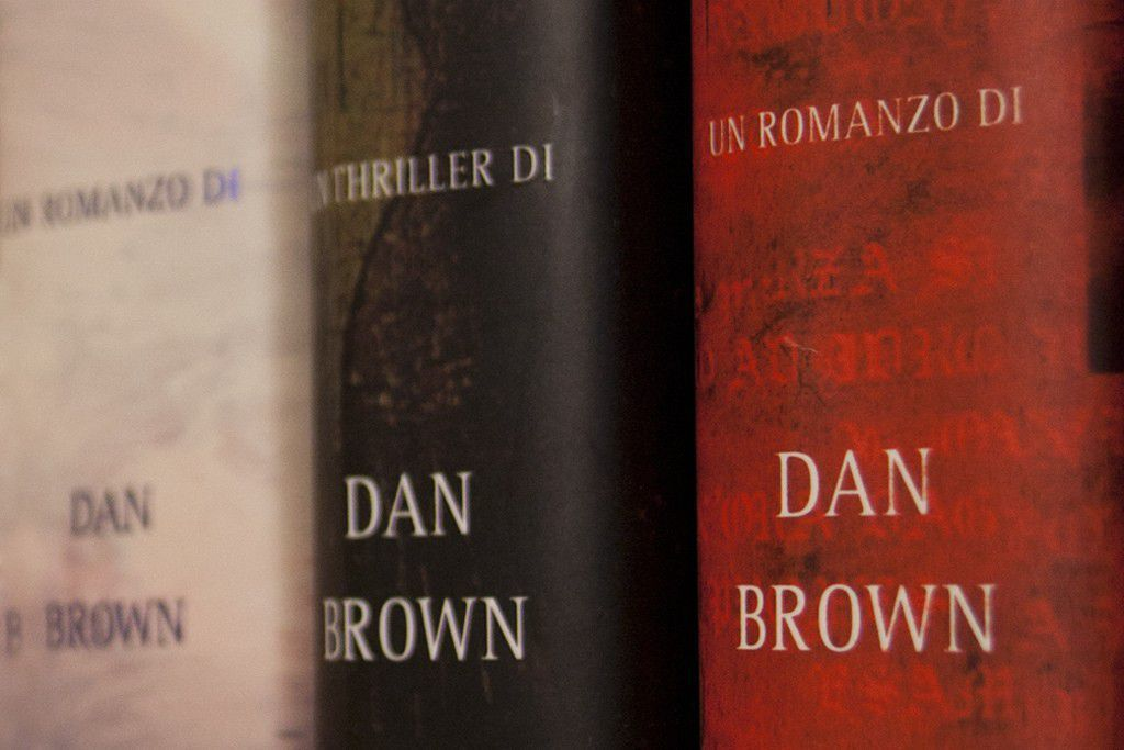 Dan Brown by Enrico Matteucci CC BY 2.0