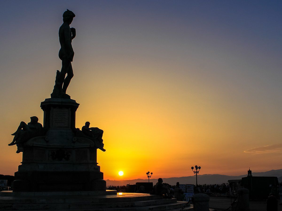 Sunset Piazzale Michelangelo Florence by Andy Hay CC BY 2.0