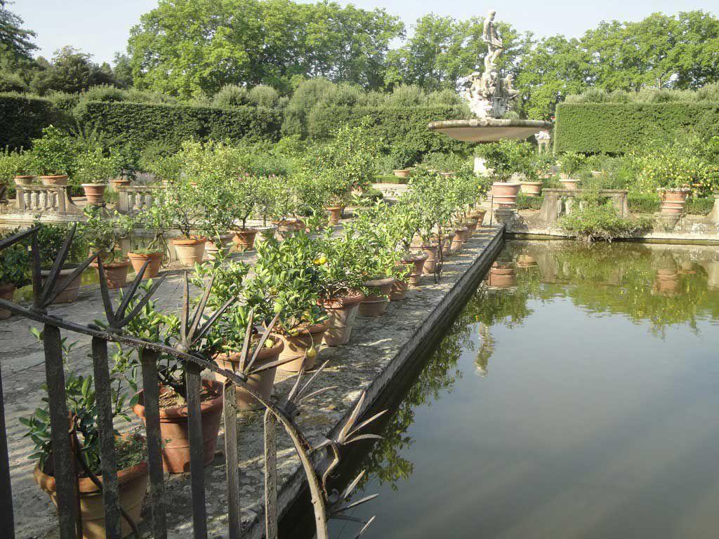 The Isolotto in the Boboli Gardens