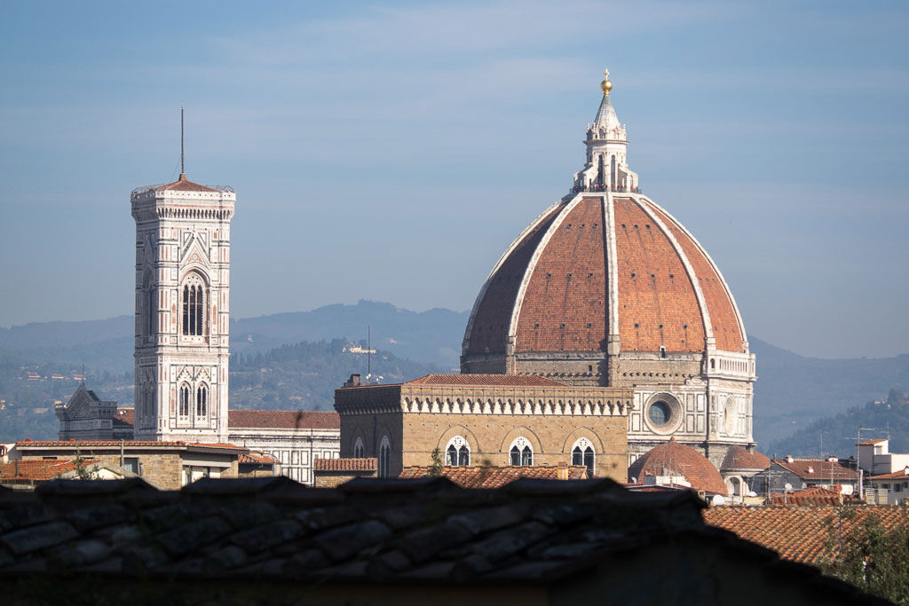 View of Florence from Boboli Garden