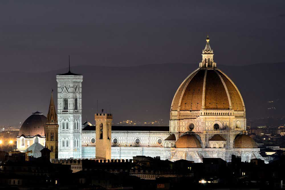 Florence Duomo by Night / © Hotel Adler Cavalieri