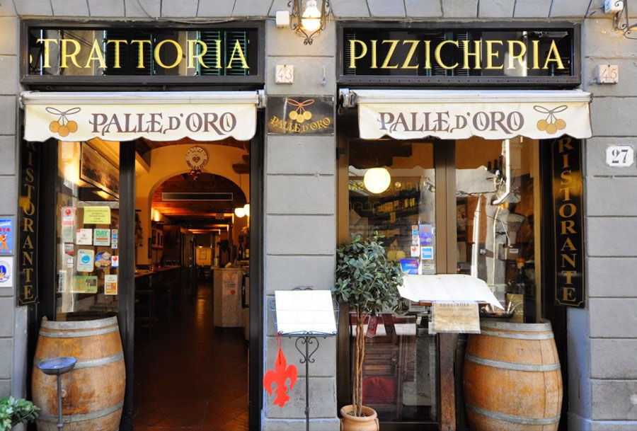 Typical Florentine Restaurant: Palle d'Oro