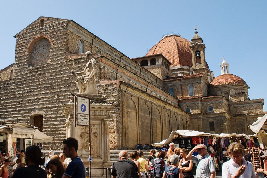 Basilica of San Lorenzo by Richard Cassan CC BY-NC 2.0