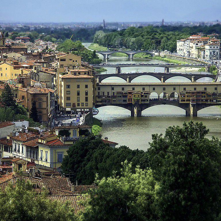 Florence, Italy by Lex Kravetski CC BY 2.0