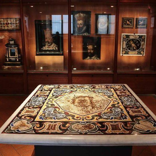 The Museum of the Opificio delle Pietre Dure