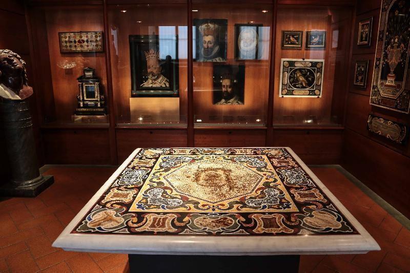 The Museum of the Opificio delle Pietre Dure