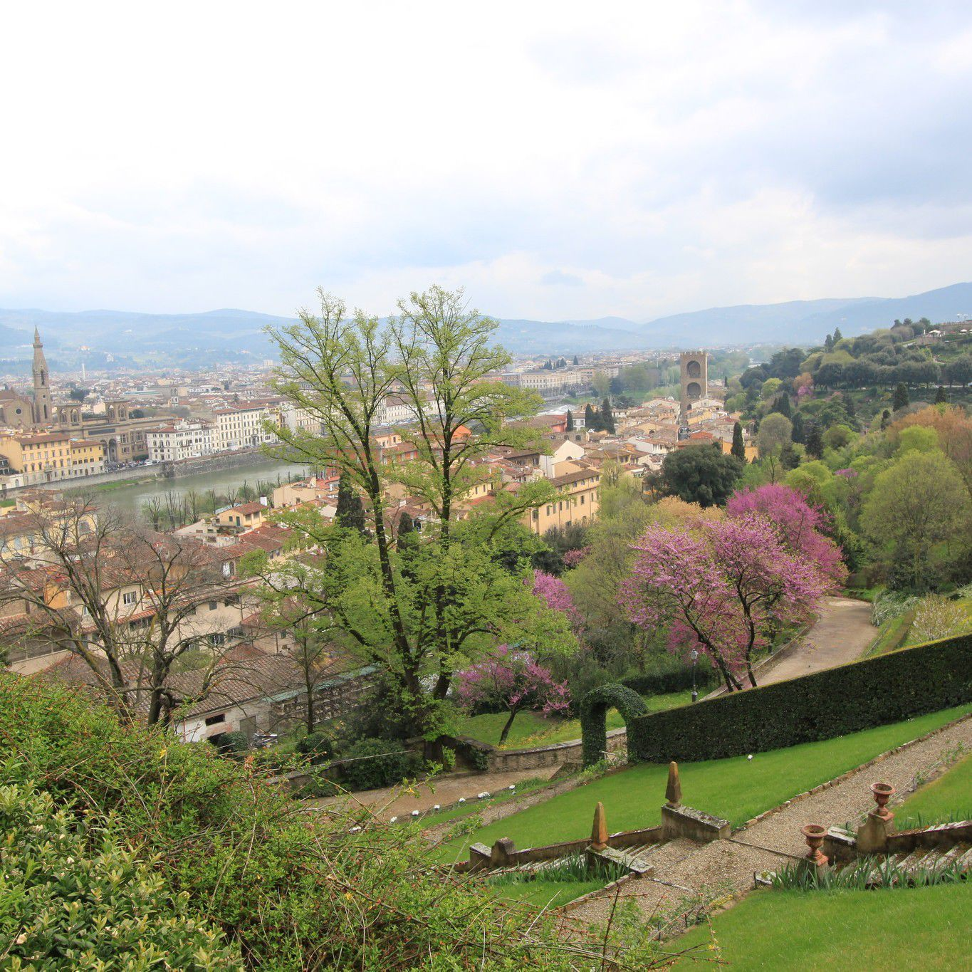 Views of the Giardino Bardini by Bradley Griffin CC BY 2.0