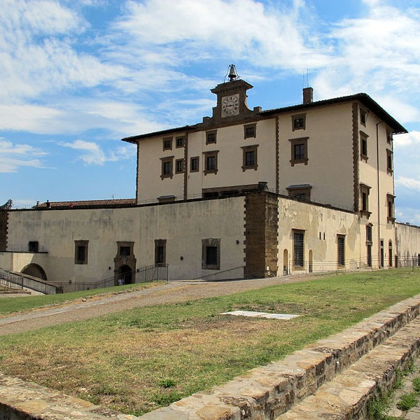 Fort Belvedere: the main building